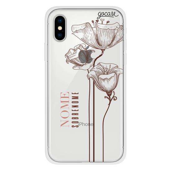 Capinha para celular Delicate Flowers