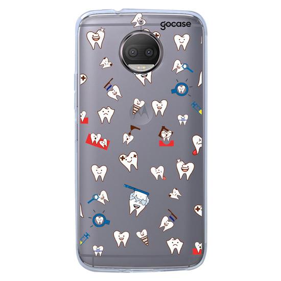 Capinha para celular Dentinhos