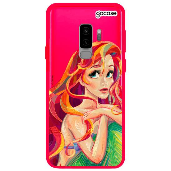 Capinha para celular Disney - Ariel Style