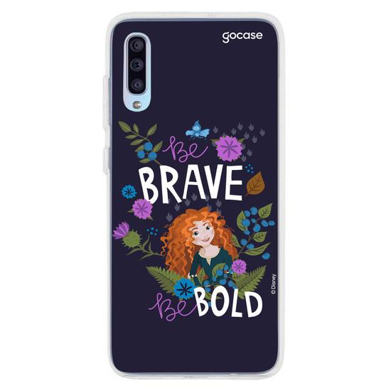 Capinha para celular Disney - Be brave be bold