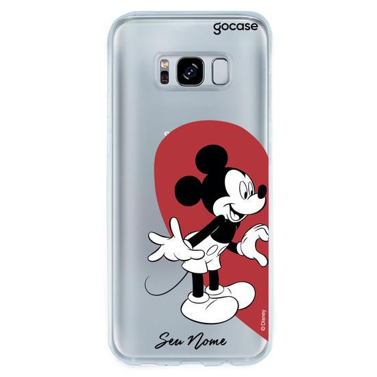 Capinha para celular Disney - BFF Coração Mickey