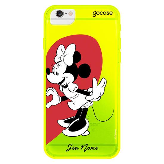 Capinha para celular Disney - BFF Coração Minnie