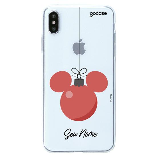 Capinha para celular Disney - Bolinha de Natal