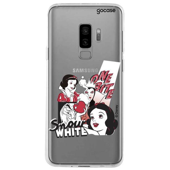 Capinha para celular disney - Branca de neve Red&White Pop Art