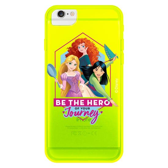 Capinha para celular Color Black - Disney - Princesas e Heroínas Personalizada