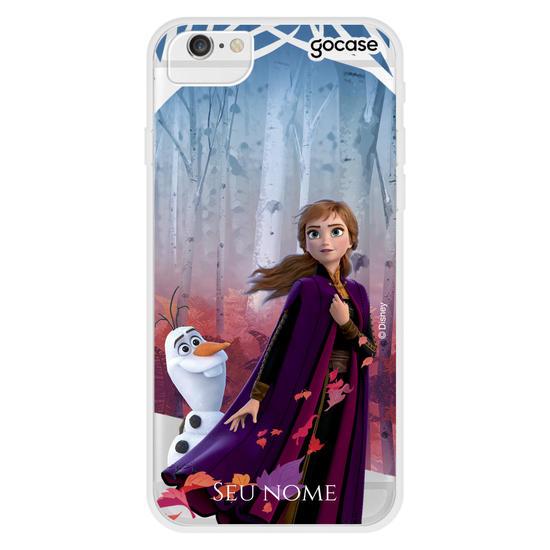 Capinha para celular Disney - Anna -  Explorando o Desconhecido