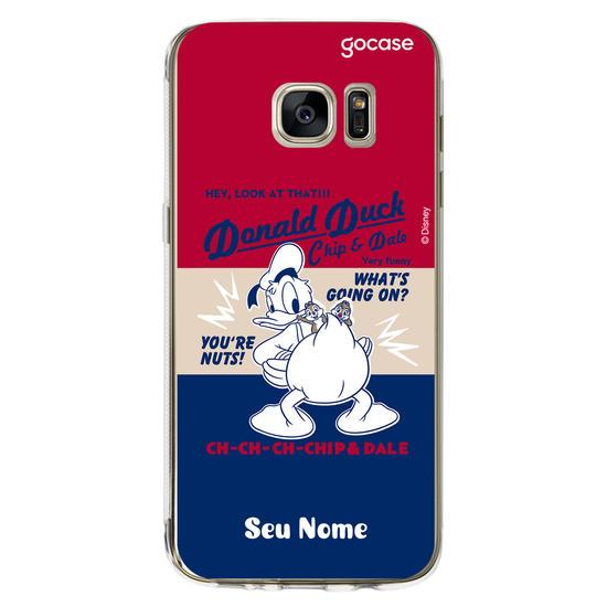 Capinha para celular Disney - Donald, Chip e Dale