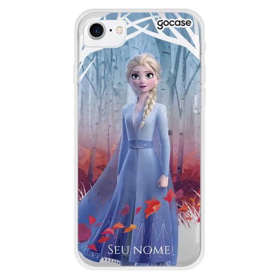 Capinha para celular Disney - Elsa - Explorando o Desconhecido