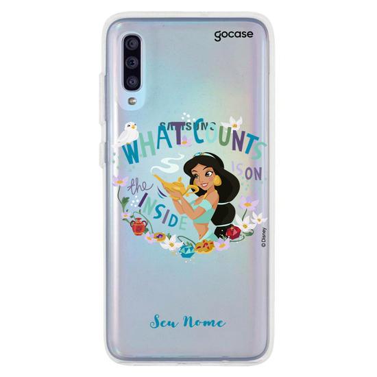 Capinha para celular Disney - Jasmine Lamp Clean