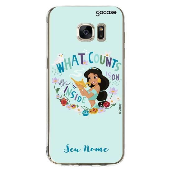 Capinha para celular Disney - Jasmine Lamp