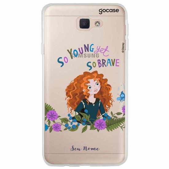 Capinha para celular Disney - Jovem e Corajosa