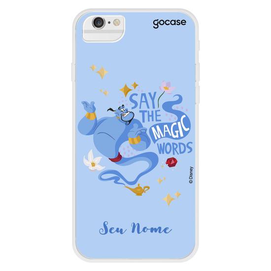 Capinha para celular Disney - Magic Words