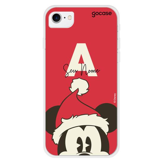 Capinha para celular Disney - Mickey Natalino