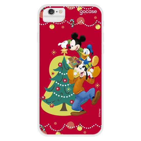 Capinha para celular Disney - Montando a Árvore de Natal