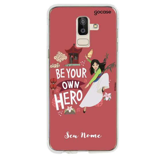Capinha para celular Disney - Mulan Seja Sua Própria Heroína