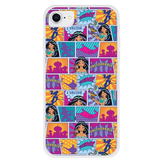 Capinha para celular Disney - Pop Art Comic - Jasmine
