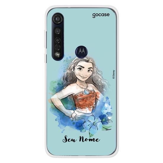 Capinha para celular Disney - Watercolor Moana