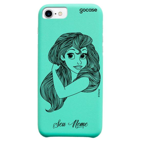 Capinha para celular Fascino - Disney - Ariel Lineart