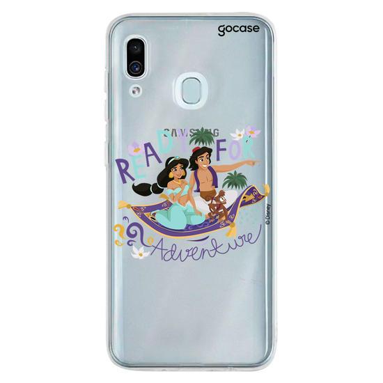 Capinha para celular Disney - Jasmine e Aladdin - Clean