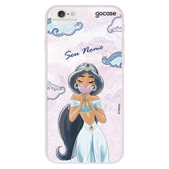 Capinha para celular Disney - Jasmine Sonhadora