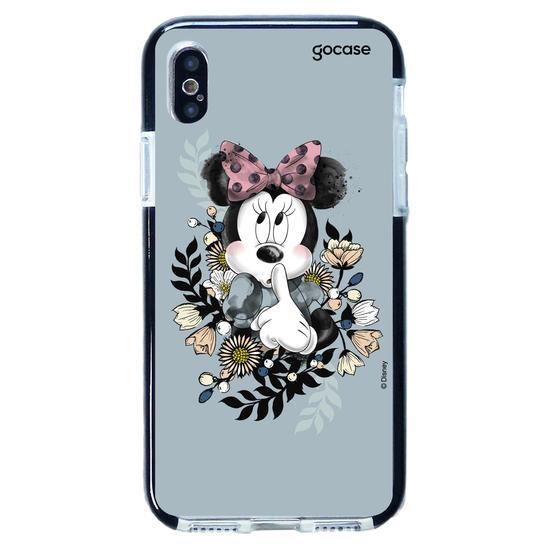 Capinha para celular Disney - Minnie Floral