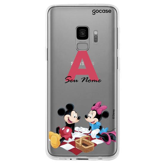 Capinha para celular Disney - Piquenique Inicial Fancy
