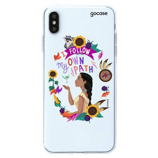 Capinha para celular Disney - Pocahontas - Sigo meu Próprio Caminho Clean