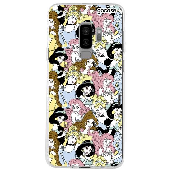 Capinha para celular Disney - Princess Pattern