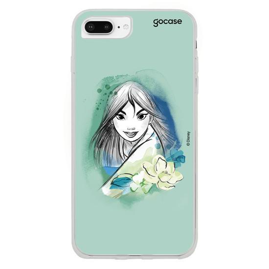 Capinha para celular Disney - Watercolor - Mulan