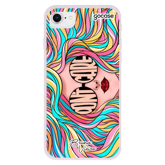 Capinha para celular Don't Care By Bruna Vieira