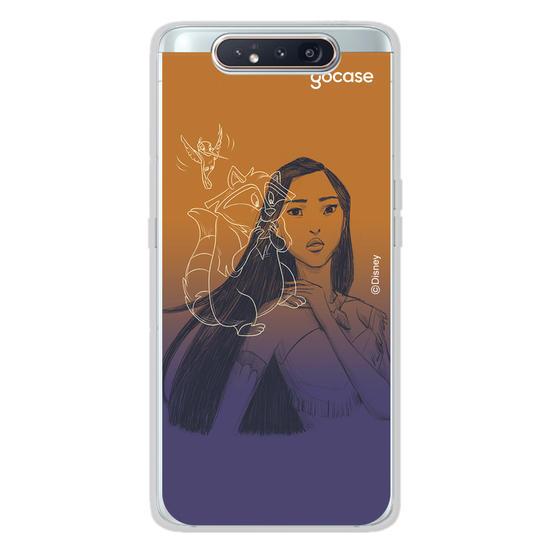 Capinha para celular Disney - Pocahontas color
