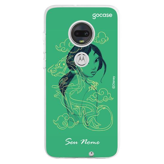 Capinha para celular Disney - Mulan color