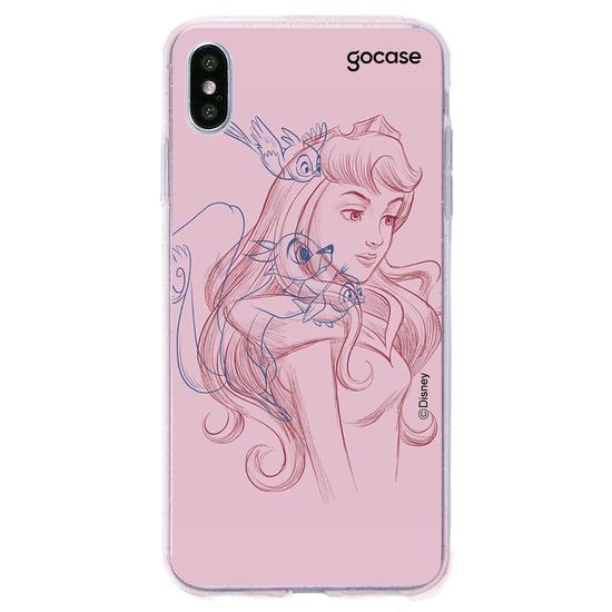 Capinha para celular Disney - Aurora color