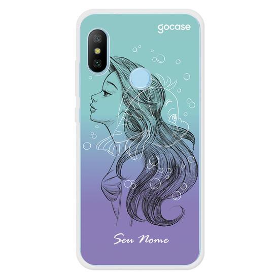 Capinha para celular Disney - Ariel color