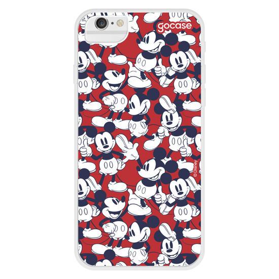 Capinha para celular Mickey Red