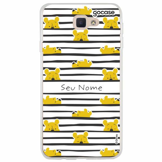 Capinha para celular Pooh Lines
