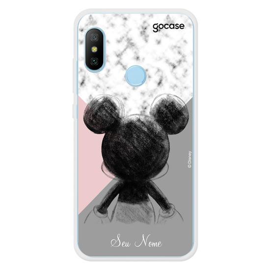 Capinha para celular Mickey Tricolor