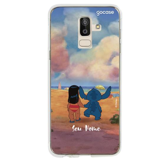 Capinha para celular Lilo e Stitch - Mar e Amar