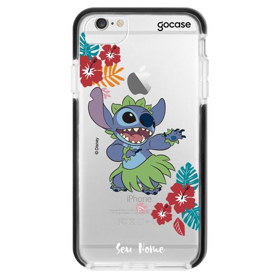 Capinha para celular Lilo e Stitch - Dançarino de Hula