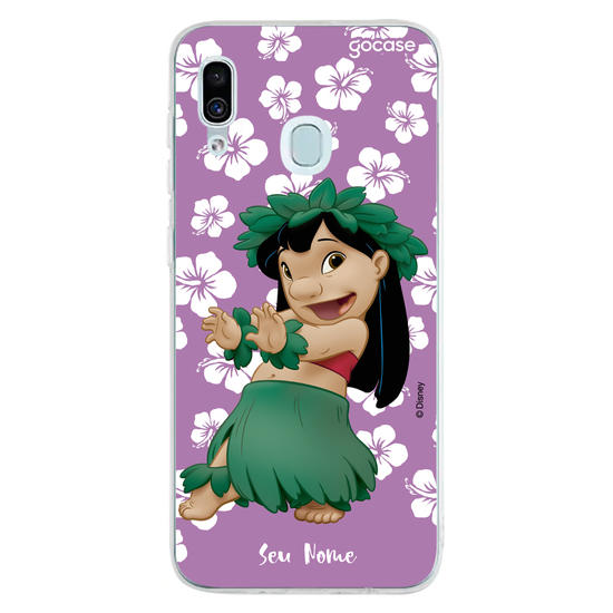 Capinha para celular Lilo e Stitch - Hula Hula