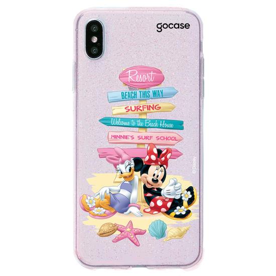 Capinha para celular Disney - Beach Friends