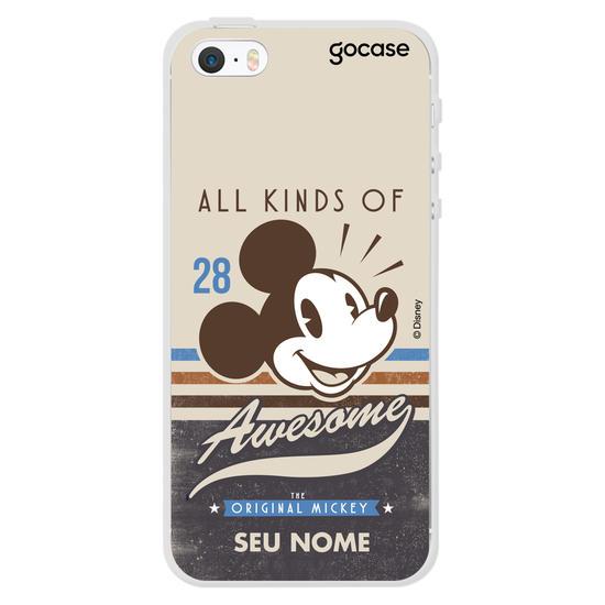 Capinha para celular Disney - Mickey Awesome