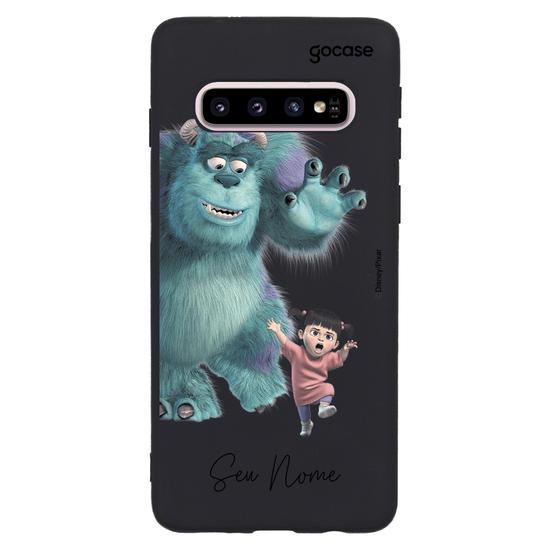 Capinha para celular Monstros S.A. - Sulley e Boo
