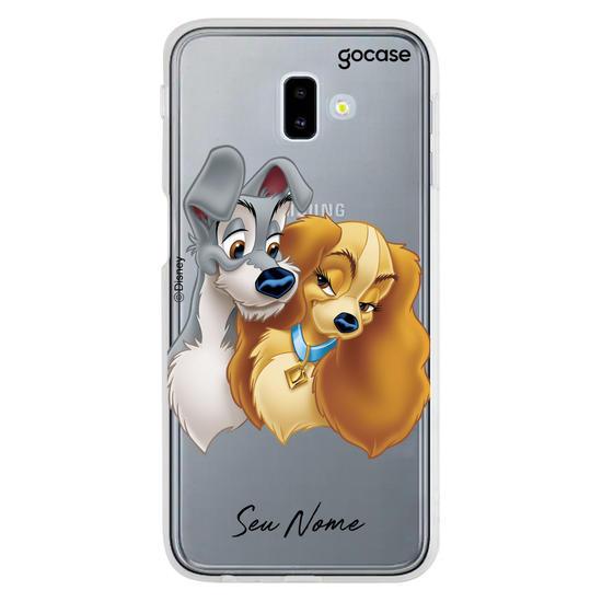 Capinha para celular Disney - A Dama e o Vagabundo