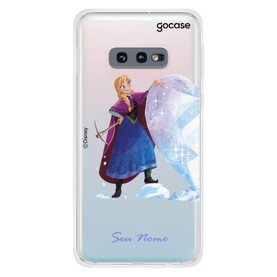 Capinha para celular Disney - Frozen - BFF Ana e Kristoff - Ana