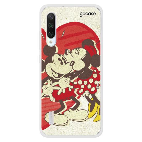 Capinha para celular Disney - Mickey e Minnie - Heart