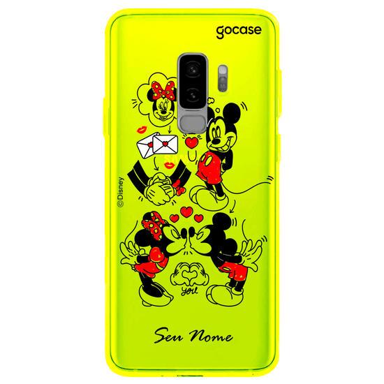 Capinha para celular Disney - Mickey e Minnie - Cartas