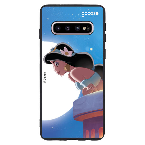 Capinha para celular Disney - Jasmine e Aladdin - BFF Jasmine