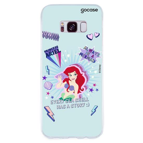 Capinha para celular Disney - Princess Power - Ariel