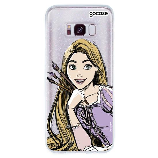 Capinha para celular Princesas - Rapunzel